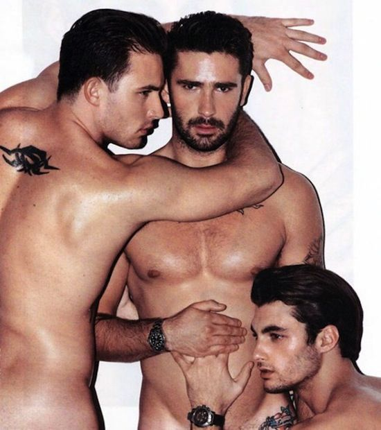 Gorgeous Cyril Giustiniani Naked! | Daily Dudes @ Dude Dump