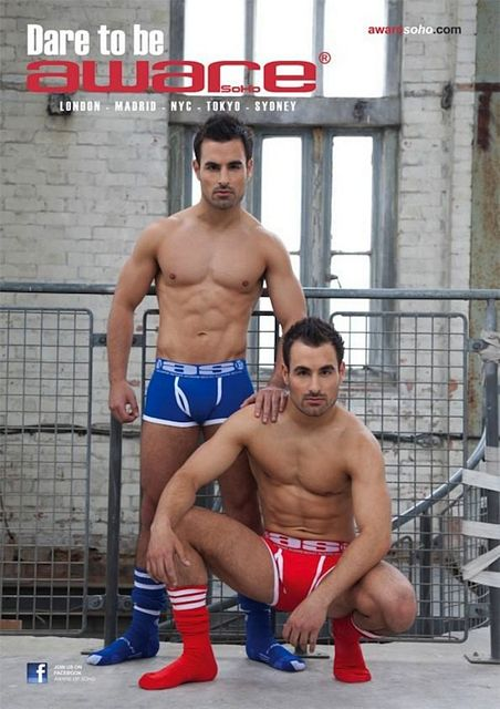Hunky Muscle Twins Dino And Georgio Georgiades   Daily Dudes @ Dude Dump