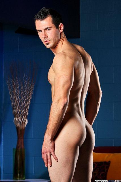 Uncut Muscle Guy Brock Cooper Jerking Off | Daily Dudes @ Dude Dump