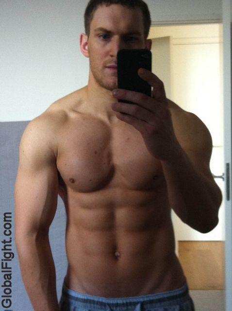 Muscle Guys Locker Room Self Pics | Daily Dudes @ Dude Dump
