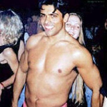 "Kelly Ripa's stripper husband ""Meaty"" Mark | Daily Dudes @ Dude Dump"