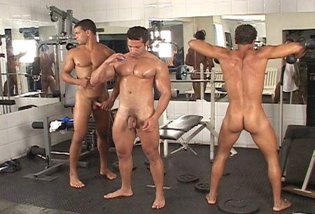 Three Muscle Jocks Jerking Together – Uncut Muscle | Daily Dudes @ Dude Dump