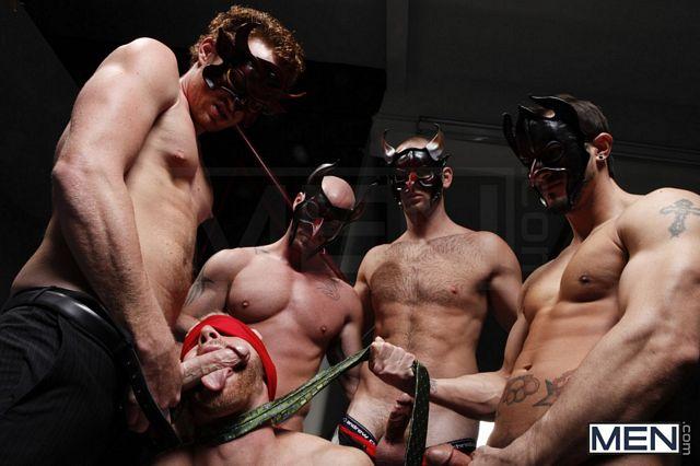 Masked Man Orgy   Daily Dudes @ Dude Dump