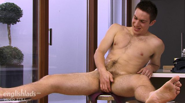 Miles Gregory Wanks His Hairy Jock Cock | Daily Dudes @ Dude Dump