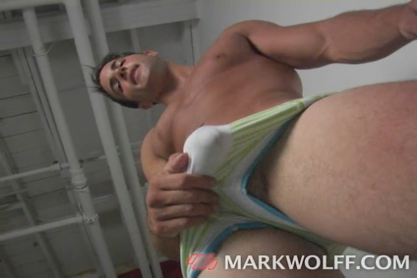 Anthony Zuchelli Jerks His Hung Jock Cock | Daily Dudes @ Dude Dump