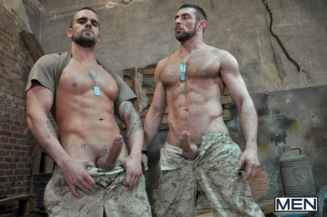 Rough Gay Army Sex | Daily Dudes @ Dude Dump
