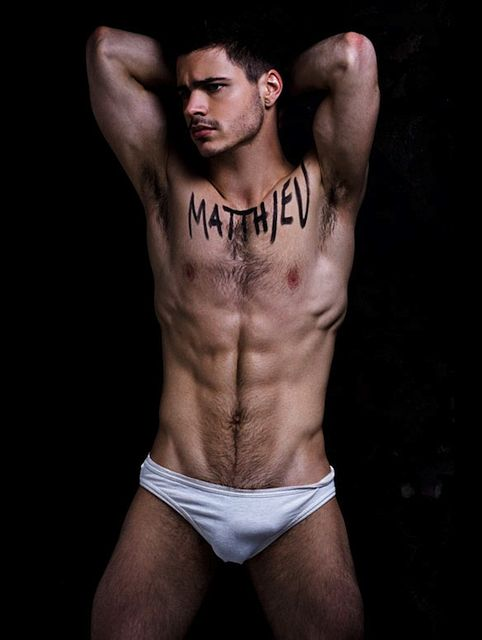 Gorgeous French Male Model Matthieu Charneau | Daily Dudes @ Dude Dump