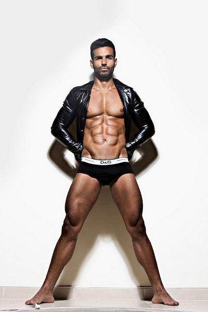 Muscle Model Sidney Allan | Daily Dudes @ Dude Dump