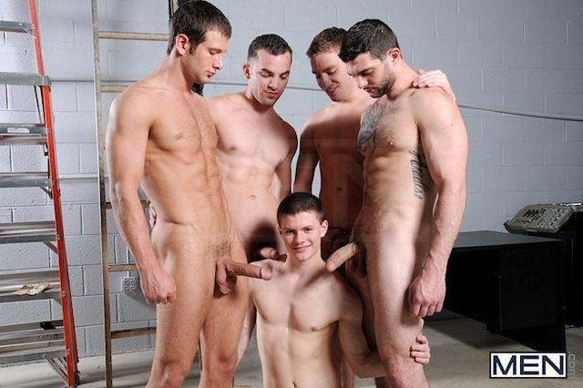 Gay Jock Orgy – Muscle Boys Group Fuck | Daily Dudes @ Dude Dump
