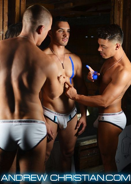 Quinn Jaxon And Others For Andrew Christian | Daily Dudes @ Dude Dump