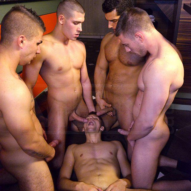 5-Man Hungarian Orgy | Daily Dudes @ Dude Dump