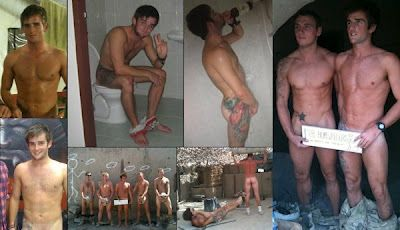 Sam Ashworth; Naked Fun With Naked Solders | Daily Dudes @ Dude Dump
