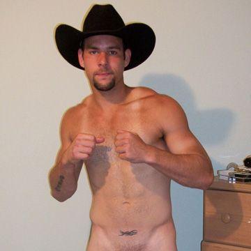 Cowboy's Massive Load   Daily Dudes @ Dude Dump