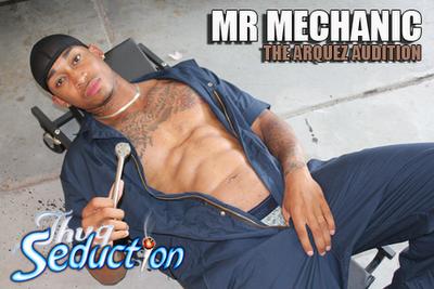 Mr. Mechanic-The Arquez Audition | Daily Dudes @ Dude Dump