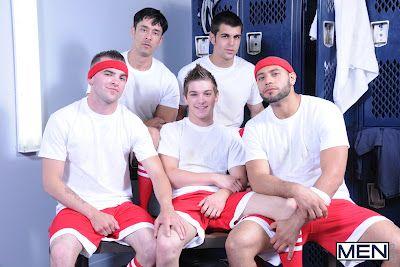 Soccer Boy's Locker Room Gang Bang | Daily Dudes @ Dude Dump