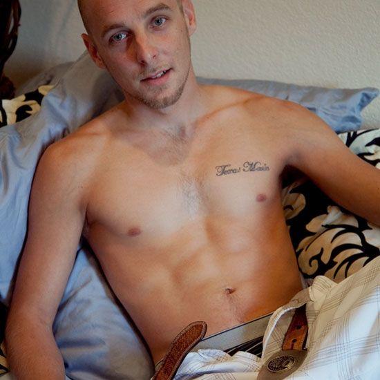 Kale strokes his fat cock | Daily Dudes @ Dude Dump
