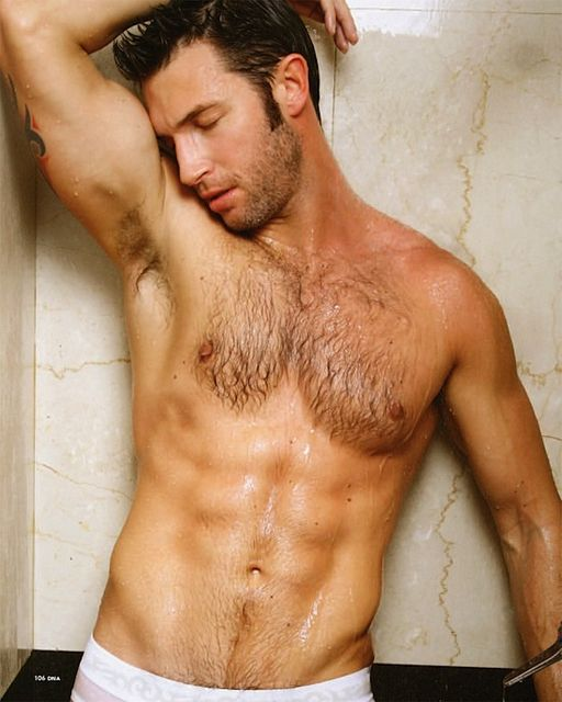 Hairy Hunk Will Fennell For DNA   Daily Dudes @ Dude Dump