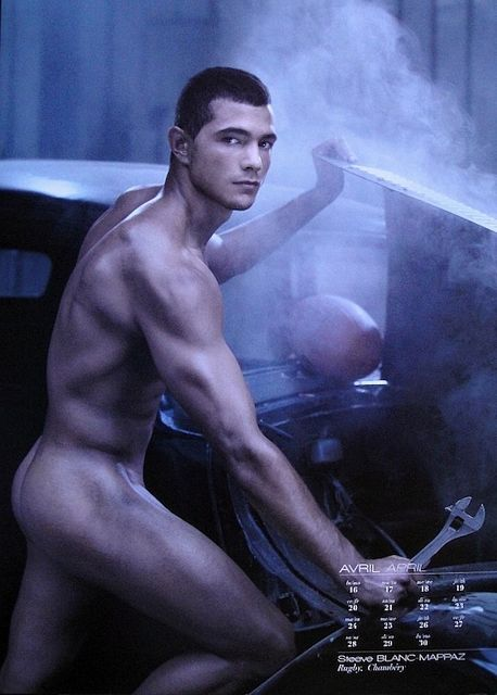 Steeve Blanc-Mappaz Naked – Dieux du Stade 2012 | Daily Dudes @ Dude Dump