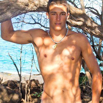 IslandStud.com presents: Luke – Sexy Uncut Surfe | Daily Dudes @ Dude Dump