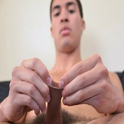 A Combo Of Ass Play and Foreskin Stroking | Daily Dudes @ Dude Dump