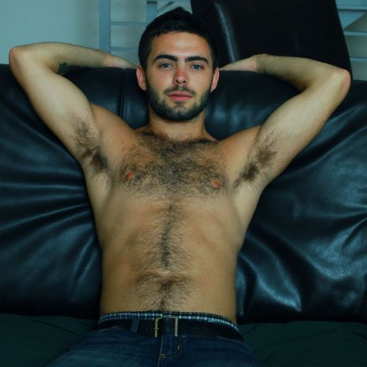 Furry college stud jerks off | Daily Dudes @ Dude Dump