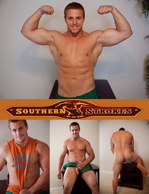 Good Looking Guy Carter Squeezes out a Big | Daily Dudes @ Dude Dump