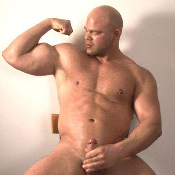 Bald Muscle Man | Daily Dudes @ Dude Dump