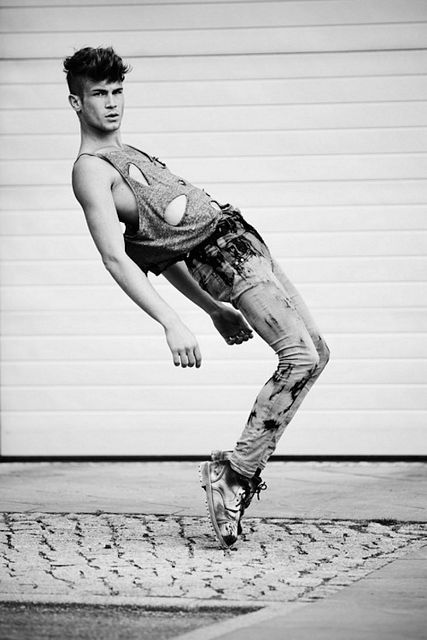 Handsome Twink Model Kevin Brandstätter | Daily Dudes @ Dude Dump