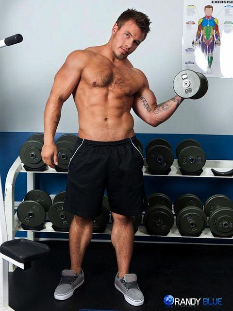 Hairy Muscle Jock Dan Darlington | Daily Dudes @ Dude Dump