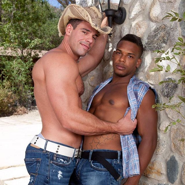 Midnight cowboys — Derek & Adrian | Daily Dudes @ Dude Dump