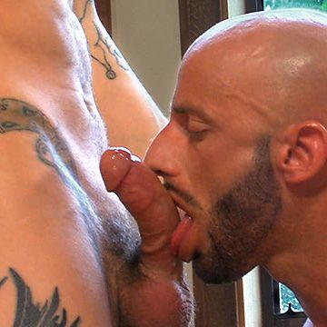 Fucking Sexy Bald Frenchman | Daily Dudes @ Dude Dump