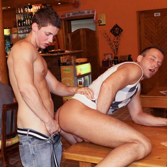Bareback Sex at a Bar | Daily Dudes @ Dude Dump