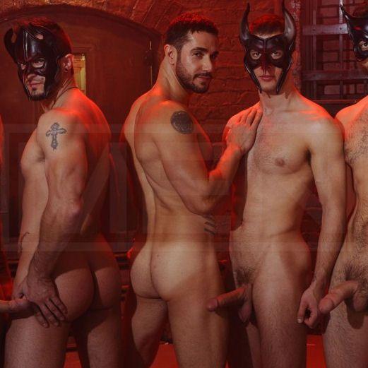 Masked Men 2 — Phenix gets fucked | Daily Dudes @ Dude Dump