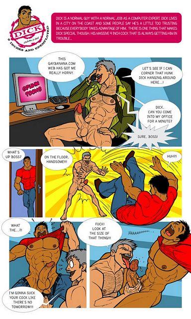 9 Inch Cartoon Cock! | Daily Dudes @ Dude Dump