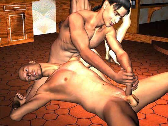Hardcore Gay 3D Cartoon Action | Gay Toon Blog | Daily Dudes @ Dude Dump