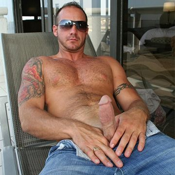 Hairy Straight Man Sebastian Steel | Daily Dudes @ Dude Dump
