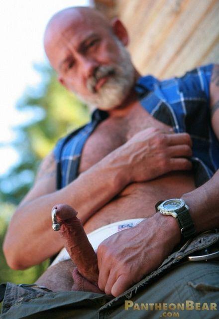 Gay bear outdoor strokes   Daily Dudes @ Dude Dump