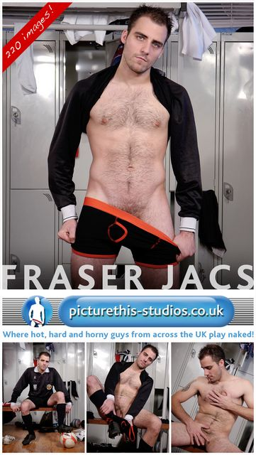 Soccer Referee Fraser Jacs Wanking | Daily Dudes @ Dude Dump