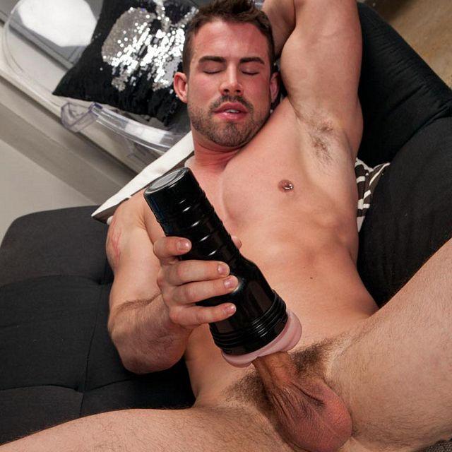 Kai Madison pumps his uncut cock | Daily Dudes @ Dude Dump