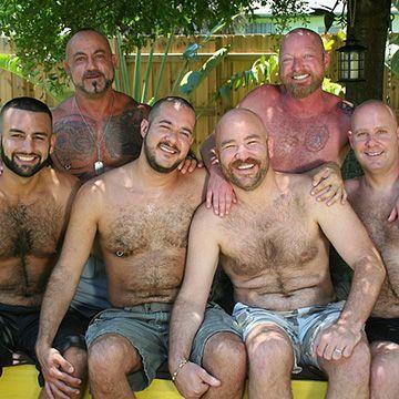 6 Bear Men Gang Bang | Daily Dudes @ Dude Dump
