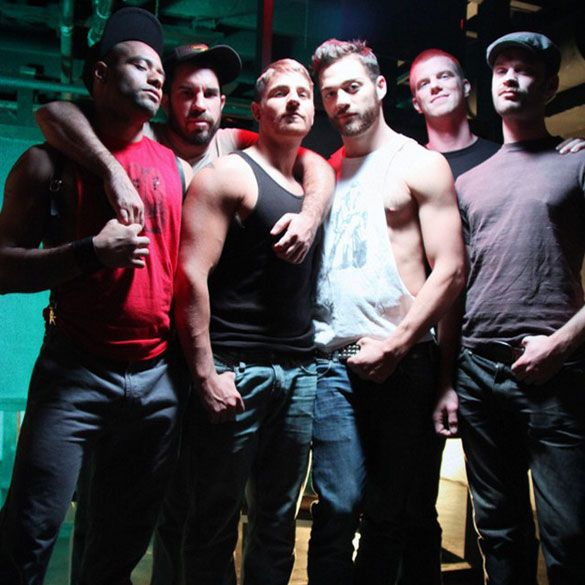 A 6 men orgy scene | Daily Dudes @ Dude Dump