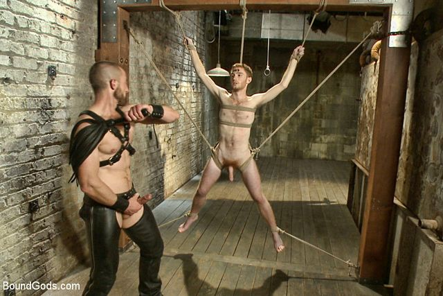 Adam Herst gives his slave cock, pain and cum | Daily Dudes @ Dude Dump