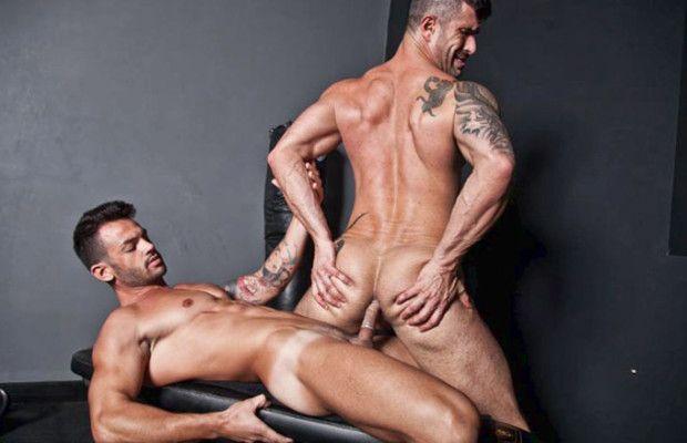 Adriano Carrasco fucks Adam Killian | Daily Dudes @ Dude Dump