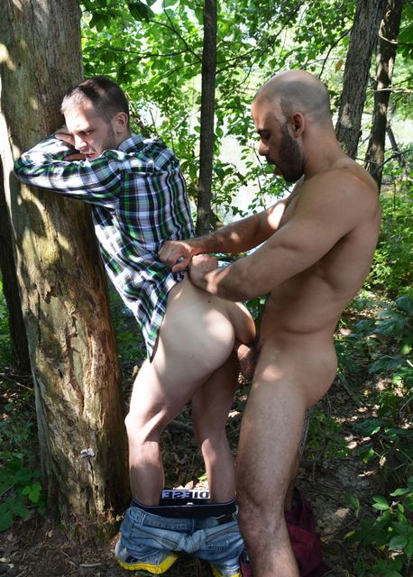 Austin Wilde and Arnaud Chagall Fuck Outdoors | Daily Dudes @ Dude Dump