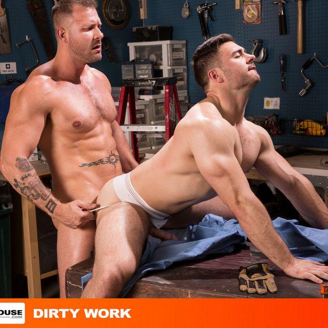Austin Wolf Bangs Derek Bolt Hard in Dirty Work | Daily Dudes @ Dude Dump