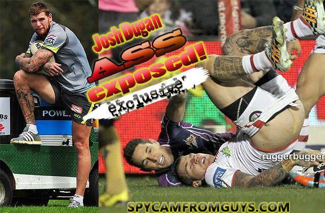 Australian rugby player Josh Dugan reveals his ass | Daily Dudes @ Dude Dump