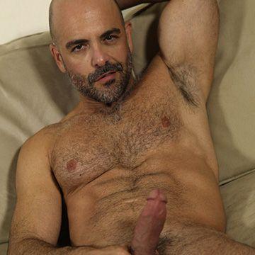 Bald Hairy Hunk | Daily Dudes @ Dude Dump