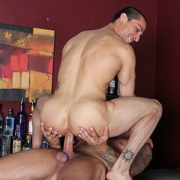 Barebacked at the Bar | Daily Dudes @ Dude Dump