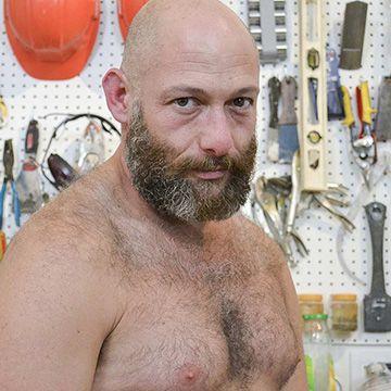 Bearded Bald Daddy | Daily Dudes @ Dude Dump