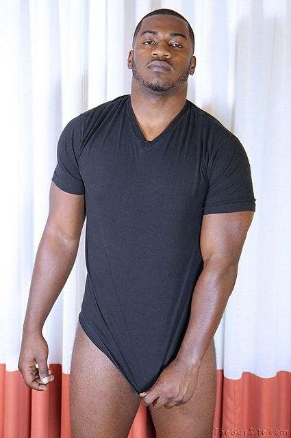 Big Guy With a Big Dick Terrance shows off | Daily Dudes @ Dude Dump